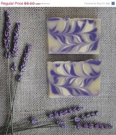 Lavender Soap Artisan Cold Process Soap by ArtisanBathandBody, $4.23