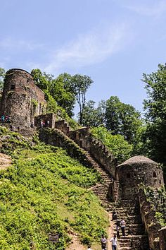 Iran - Ghilan - Rudkhan Castle  Gilan province, it is a military complex which had been constructed during the Seljuk Dynasty