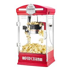 8eefc05a87 Big Bambino Table Top Retro Machine Popcorn Popper