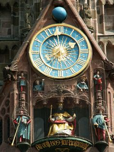 Unique Clocks, Cool Clocks, Outdoor Clock, World Clock, Father Time, As Time Goes By, Time Clock, Sundial, Beautiful Architecture