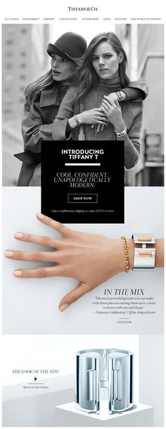 Tiffany & Co email design