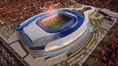 Fernandes Arquitetos Revela Imagens de Arena Multiusos em Cochabamba na Bolívia
