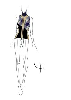 Dany Fay Golf Couture | Sketches Collection SS17 - Part I  #danyfay #sketches #fashiondesign #collectionss17 #ss17 #Gofhose #Golfmode #Golfjacke #Golfkleider #Golfbekleidung #dame #golfer #schweiz #Switzerland #Zurich #Germany #madeinItaly #zurichsee #golfetiquette #golfstyle #jaanteshowroom #golfcouture #designerclothing #modafeminina #golf #sleeves