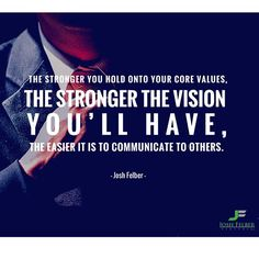 How strong is your vision? #entrepreneur #success #freedom joshfelber.tumblr.com