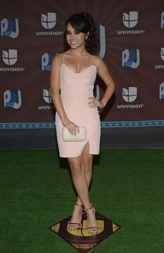 Becky G Photos: Arrivals at the Premios Juventud