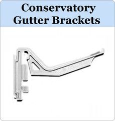 Virtual Plastics Ltd. Conservatory Gutter Brackets, that come in variety of colours from £1.99