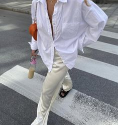 Mode Outfits, Trendy Outfits, Fashion Outfits, Womens Fashion, Fashion Trends, Formal Outfits, Trending Fashion, White Outfits, Office Outfits