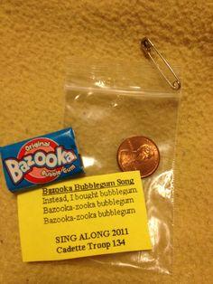 Bazooka bubblegum swap