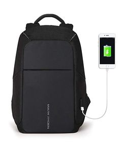 Markryden Anti-theft Laptop Backpack Business Bags with USB Charging Port  School Travel Pack Fits ad47875022a17