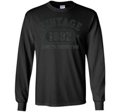 85 Years Old 85th Birthday B Day Gift 1932 T Shirt