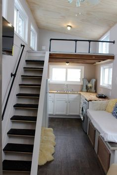 Relax Shack Red Tiny House on Wheels by Mini Mansions 002: