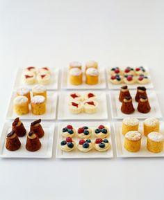 Egg Unlimited miniature cakes