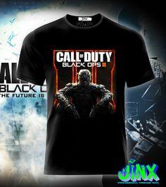 $179.00 Playera o Camiseta Call Of Duty Black ops - Jinx