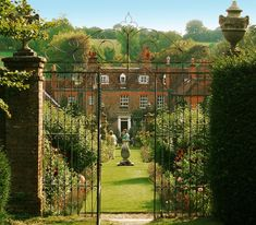 Image result for stately home gates open