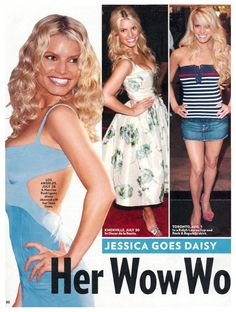 Jessica Goes Daisy: Her Wow Workout - Diet & Fitness, The Dukes of Hazzard (DVD - 2004), Jessica Simpson : People.com