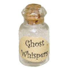 ghost whisper in a bottle..
