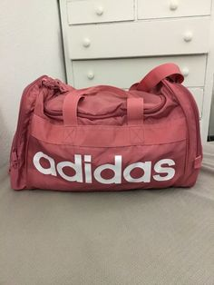 adidas Lined Small Team Bag Holdall Carrier Sports Training Sack Accessories   fashion  clothing   3a3d071b69b4b