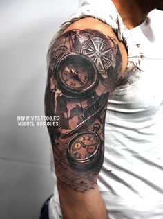 v tattoo brujula y reloj copia