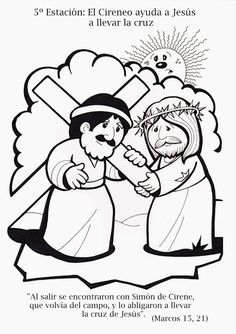 Woman Lost Coin Colouring Pages See More La Catequesis Via Crucis Para Colorear Los Ninos De