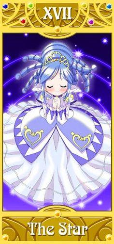 Fushigiboshi no Futagohime Tarot - the star