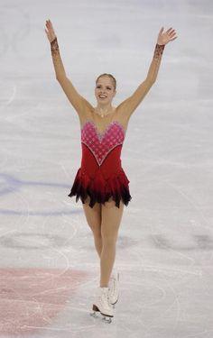 Carolina Kostner (Photo by Jasper Juinen/Getty Images)