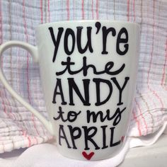 A personal favorite from my Etsy shop https://www.etsy.com/listing/253586055/youre-the-andy-to-my-april-treat-yo-self