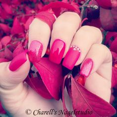 Cherry Red Nails 💕
