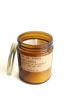 P.F. Candle Co. Spruce Soy Candle – Parc Boutique