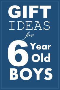 Christmas Gift Ideas For 6 Year Old Boys Gifts Six Olds
