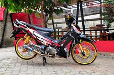 13 Best Modifikasi Motor Supra X 125 Images Honda