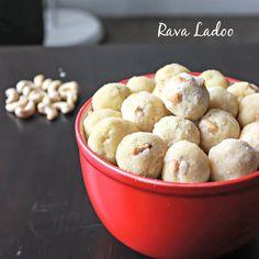 Rava Ladoo / Semolina sweet http://www.relishthebite.com/rava-ladoo-semolina-sweet/  Simple exotic dessert made with semolina and cashew nuts. Great five-ingredient recipe for last minute preparation.  #relishthebite #festival #diwali #deepavali #Indiansnacks #recipes #recipe #diwali2014 #food #easy #quickandeasy #cooking #homecook #semolina #sweet #dessert