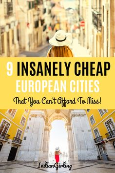 Wondering what are the cheapest European cities to visit? Here's my top 9 with recommendations for top things to do, where to stay and what to eat. Europe Travel Tips, Budget Travel, Travel Guides, Travel Destinations, Travel Hacks, Travel Advice, Cheap European Cities, Cities In Europe, Ultimate Travel