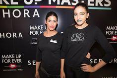 Marina Mora, luce un  maquillaje vanguardista y original de Make Up Forever
