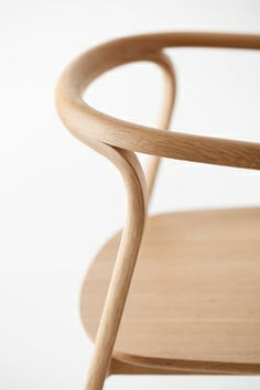 Splinter furniture by Nendo - joinery is integrated into the material itself
