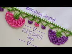 Fıstık Dolgulu Yelpaze Oyası Yapımı - YouTube I Am Awesome, Crochet Earrings, Elsa, Make It Yourself, Embroidery, Youtube, Darts, Drawn Thread, Cut Work