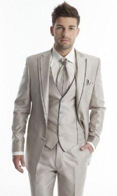 Man suit wedding, Brand ADIMO CRINOLIGNE, beige, TORES model | eBay
