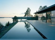 Överby - summer house - pool and landscape