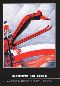 """""""Zakopane 5-10-II-1929"""" - plakat promujący narciarskie Mistrzostwa Świata FIS w Zakopanem."""