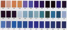 Nuancier recoloration 432 coloris - Sofolk