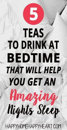Searching for sleep tips to help you get a better night's sleep? These sleep tea's will help you fall asleep fast. Sleep tea's are one of the best all natural sleep remedies. Insomnia Remedies, Natural Sleep Remedies, Natural Cures, Natural Beauty, Herbal Remedies, Health Remedies, Holistic Remedies, Sleep Tea, Mariana