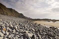 Sandymouth Beach - Sandymouth, Near Bude, North Cornwall by magiccornwall, via Flickr