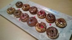 Mini Donuts aus dem Donutmaker. Rezept auf www.facebook.com/ekmen.cake4u