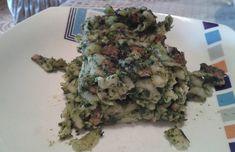 Zapečené špenátové těstoviny s nivou. Autor: smiley
