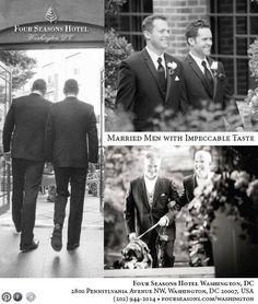 A great ad we created to celebrate all of the same sex weddings we host at the hotel. Just three of the many great couples married in 2013.