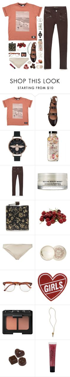 """Darling, I don't mind"" by nandim ❤ liked on Polyvore featuring Chloé, Olivia Burton, Zara, Oskia, INC International Concepts, Prism, Paul & Joe, Topman, Garance Doré and NARS Cosmetics"