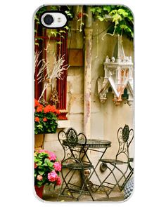 iPhone 4/4S Case - French Cafe - Paris Photography