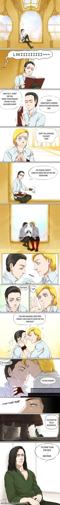Thorki-The things I remember by GarnetQuyenDinh on DeviantArt