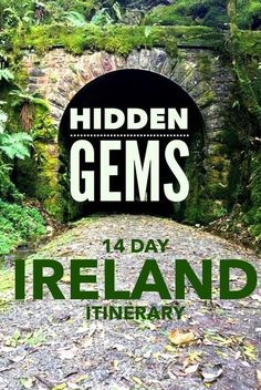 14 day Ireland itinerary including best tourist attractions in Ireland and hidden gems. A complete guide to Ieland travel. travel 14 Day Hidden Gem Ireland Itinerary - A Complete Guide Restaurants In Paris, Cool Places To Visit, Places To Travel, Travel Destinations, Ireland Destinations, Ireland Attractions, Adventurous Honeymoon Destinations, Travel Guides, Travel Tips