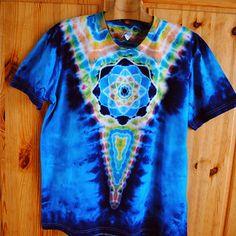 Batikované tričko XL - V hloubce oceánu / Zboží prodejce Happy Sunshine Tie Dye, Tops, Fashion, Moda, Fashion Styles, Tye Dye, Fashion Illustrations