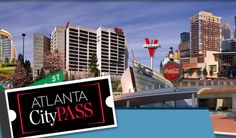 CityPASS gives you admission to 5 must-see Atlanta attractions - Georgia Aquarium - World of Coca Cola - Inside CNN Studio Tour - High Museum of Art OR Fernbank Museum of Natural History   - Zoo Atlanta OR Atlanta History Center